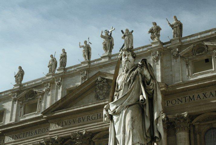 facciata chiesa San Pietro, turismo roma