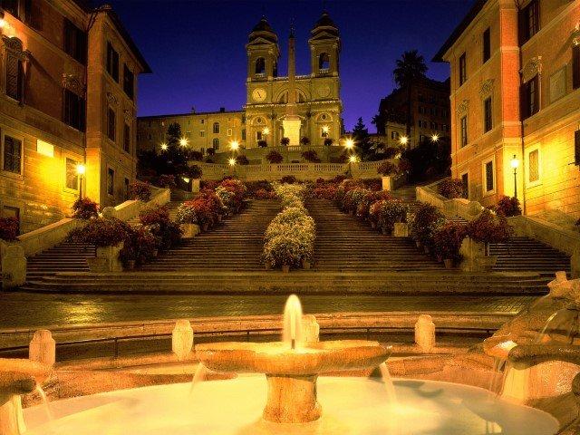 piazza di spagna, spanish steps, Roma